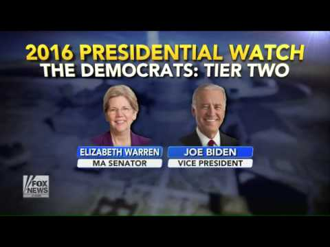 Top Democratic candidates for 2016 presidential race