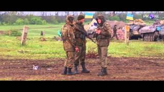 """Солдати з Білої Церкви на """"передовій""""."""