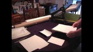 Making Quality Linen and Canvas Painting Panels with no mess