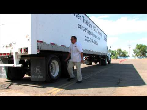 Pre trip vehicle inspection by Colorado Transportation School Part 2 of 2