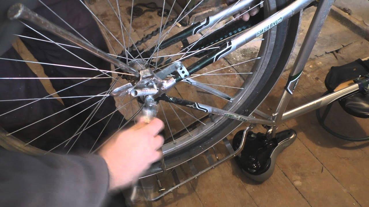 подножки для детского велосипеда своими руками