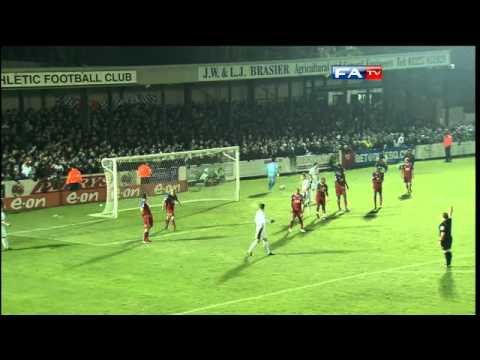 Dover 2-0 Aldershot | The FA Cup 2nd Round - 27/11/10