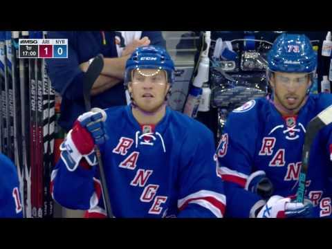 Oct.23/2016   Arizona Coyotes - New York Rangers
