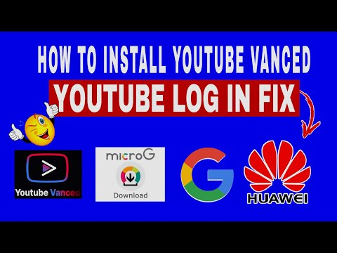 HOW TO INSTALL YOUTUBE in HUAWEI Y8P/  YOUTUBE VANCED LOGIN ISSUE FIX