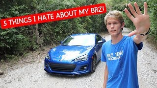 5 Things I HATE about my Subaru BRZ