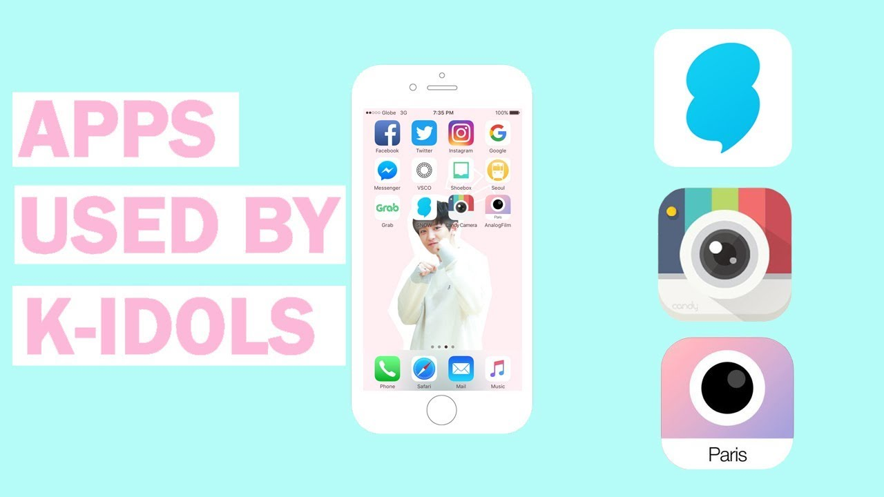 ♡ APPS USED BY KPOP IDOLS ♡