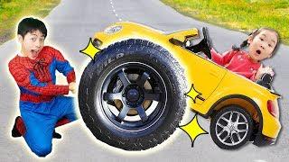 마슈! 슈퍼 히어로 변신해서 도와주기 Mashu Rescue Mission with Super Hero like BoramTube