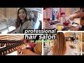 Bleaching & Dyeing My Hair Professionally in Korea!