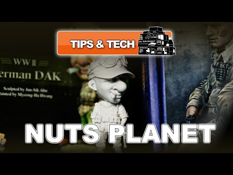 NUTS PLANET RESIN SCALE MODEL FIGURES