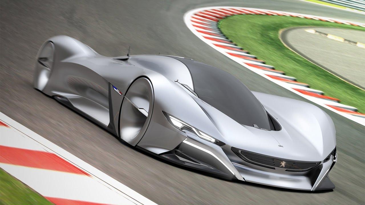 future peugeot lumie concept car youtube. Black Bedroom Furniture Sets. Home Design Ideas