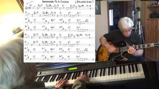 Serenade To A Cuckoo - guitar & piano jazz cover ( Roland Kirk ) Yvan Jacques