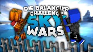 Die Balancier Challenge! - Minecraft Sky Wars! | DieBuddiesZocken