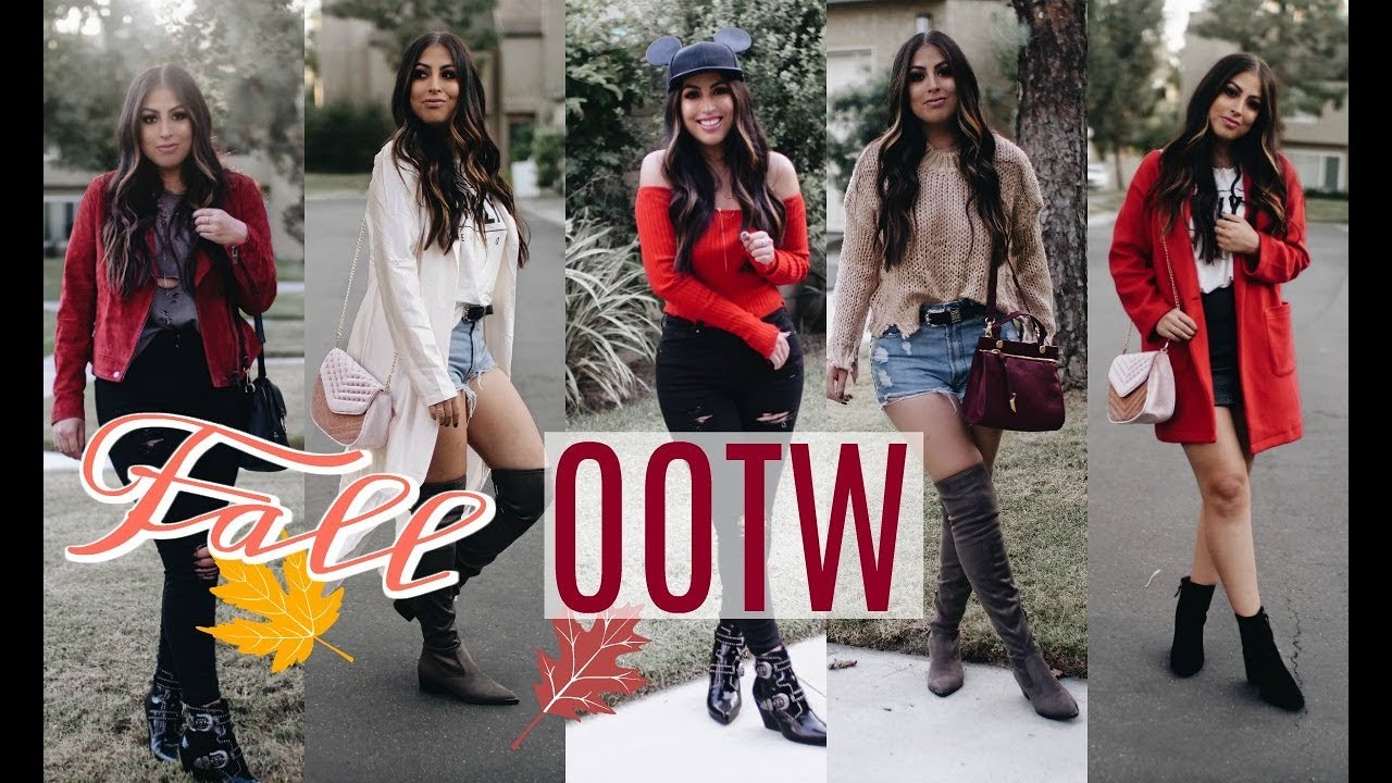 FALL OUTFITS OF THE WEEK 2017 TRENDS & IDEAS 2