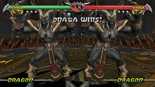 [TAS] Mortal Kombat Unchained - Onaga (PSP)