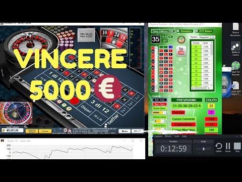 Vincere Alla Roulette Con Software Bot Predictor 2017 Vincita 5000 Euro in Betfair