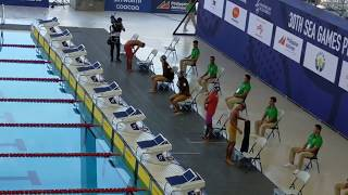 30th SEA GAMES 2019   Aquatic Swimming Men 400M Freestyle Heat 1