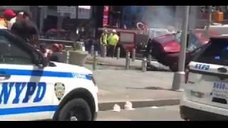 Police take Times Square crash driver into custody New York
