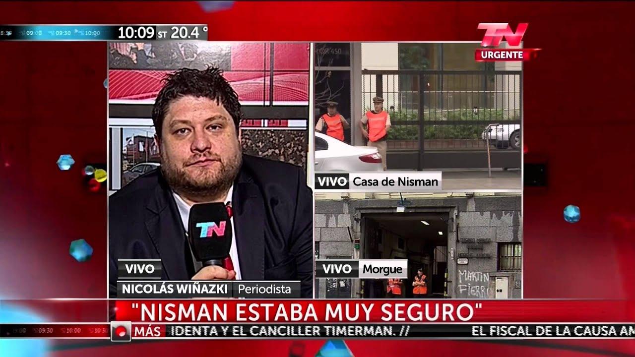 Nicolás Wiñazki Sobre La Muerte Del Fiscal Nisman En Tn