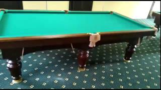 видео Бильярдный стол Барон | Купить бильярд со скидкой