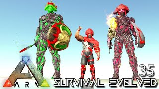 ARK: SURVIVAL EVOLVED - NEW ALPHA TRIBE BOSS MOD & SEASON FINALE !!! | PARADOS GAIA AMISSA E35