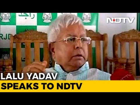 Corruption Charges Against Me On BJP Orders, Says Lalu Yadav