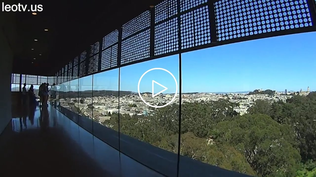 Original Video De Young Museum Observation Tower