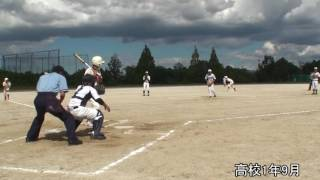 ソフトボールピッチャー 成長記 softball Pitcher growth record windmill