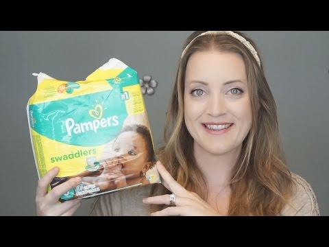 Pampers Swaddlers Review! | Allison's Journey
