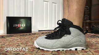 Air Jordan 10 X Cement Light Smoke Grey