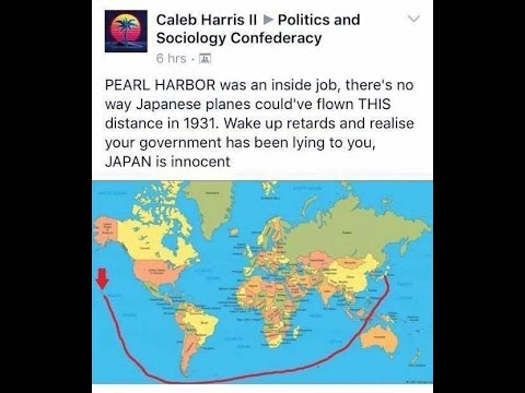 Do Flat Earthers Dream of Pearl Harbor Conspiracy Theories? thumbnail