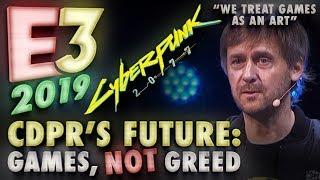 """Cyberpunk 2077 @ E3 2019: CDPR's Marcin Iwiński on Story-Driven Content, Vision & """"Games as an Art"""""""