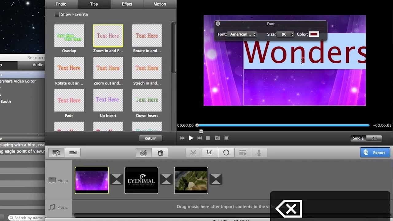 good free editing software for mac