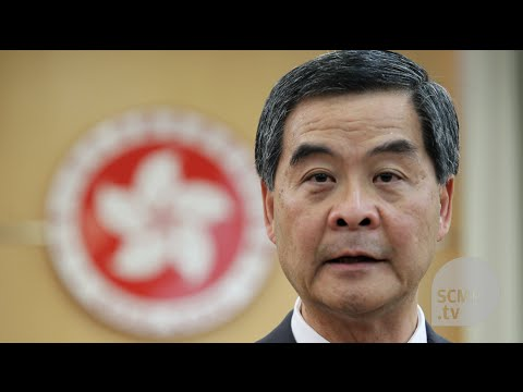'When will you die?': Hong Kong leader CY Leung faces radical lawmaker's unusual question