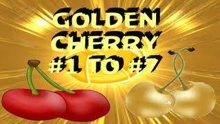 Angry Birds Rio Cherry #1 to #7 Golden BeachBall Level 1 To 15 by 3stargoldenegg