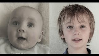 Birth to 10 years in 3 min. Time Lapse Vince (The Original)