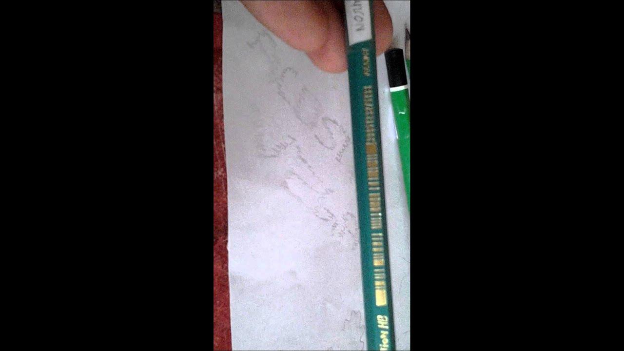 Top Comment faire sa page de garde d'arts plastique - YouTube MJ03