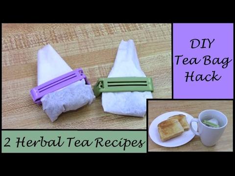 DIY Tea Bag HACK (How to Make Your Own Tea Bags & 2 of My ...