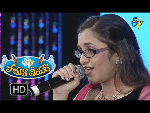 Orey Nuvvu Nakku Nachavura Song - Priya Performance in ETV Padutha Theeyaga - 12th September 2016
