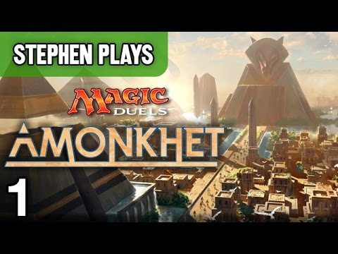 "MtG: Amonkhet #1 - ""Welcome to Egypt!"""