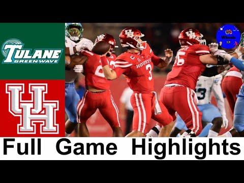 Tulane vs Houston Highlights | College Football Week 6 | 2020 College Football Highlights