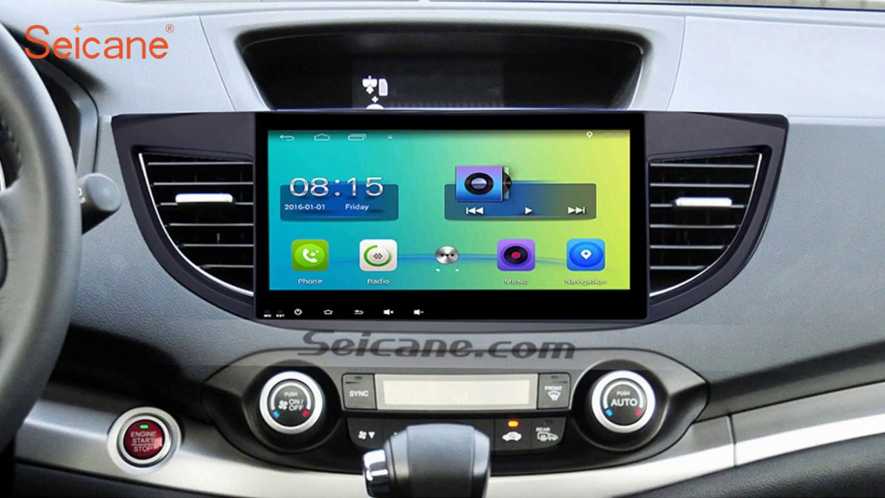 android 6 0 2011 2015 honda crv 3g wifi gps head unit with cd radio tv [ 1280 x 720 Pixel ]