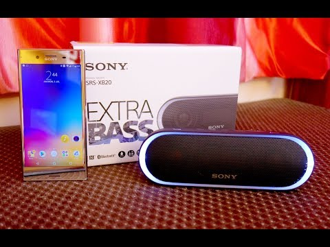 Sony SRS XB20 Extra-Bass Bluetooth speakers full review with sound test (Small size big sound)