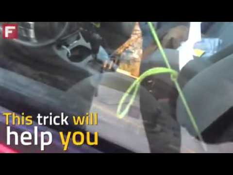 Beau Trick To Open Car Door Without Key