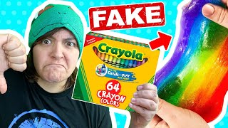 Debunking FAKE Crayola Hacks Viral Videos from 5-Minute Crafts