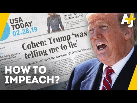 How To Impeach An American President