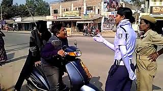 traffic police vs comdey boy