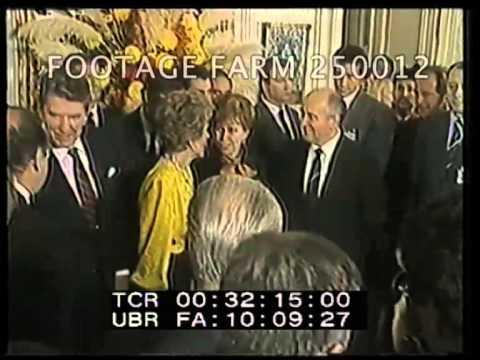 1985 Day 2, Geneva Summit Meeting 250012-03 | Footage Farm