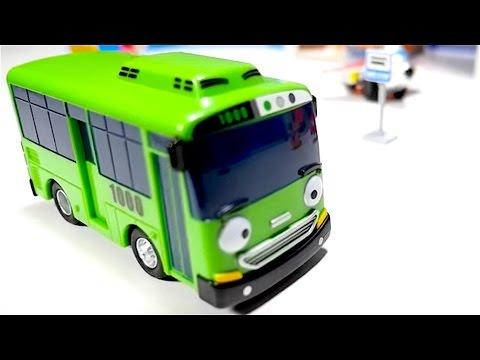 Tayo The Little Bus Toys - Tractors For Kids - Big Trucks - Fire Trucks - Planes - 타요 꼬마버스 장난감