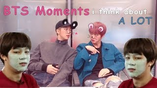 BTS moments i think about a lot