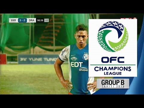 2018 OFC CHAMPIONS LEAGUE | Group B - Erakor Golden Star v AS Dragon Highlights